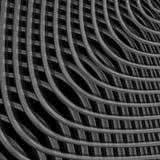 Fondo monocromatico di illusione di griglia di progettazione Fotografie Stock