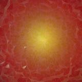 Fondo - mosaico amarillo rojo Foto de archivo