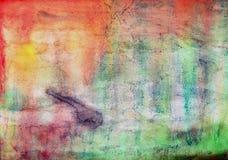 Fondo multi de la textura de la pintura del color imagen de archivo libre de regalías
