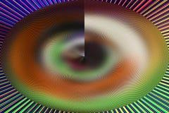 Fondo multicolor abstracto único interesante Foto de archivo libre de regalías