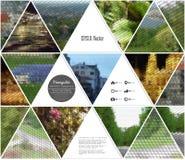 Fondo multicolor abstracto de la naturaleza Fotos de archivo libres de regalías