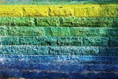 Fondo multicolor brillante fotografía de archivo