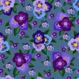 Fondo multicolor de las flores Foto de archivo