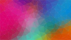 Fondo multicolor del abstrat del triángulo Vector Eps10 ilustración del vector