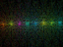 Fondo multicolor del azulejo de las luces stock de ilustración