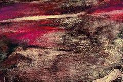 Fondo multicolor del extracto del primer de las pinturas de aceite de los artistas imágenes de archivo libres de regalías