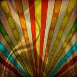 Fondo multicolor del grunge de los rayos de sol fotos de archivo libres de regalías