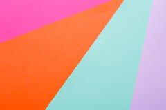 Fondo multicolor geométrico abstracto Fotografía de archivo
