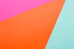 Fondo multicolor geométrico abstracto Foto de archivo libre de regalías