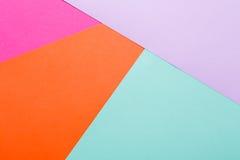 Fondo multicolor geométrico abstracto Imágenes de archivo libres de regalías