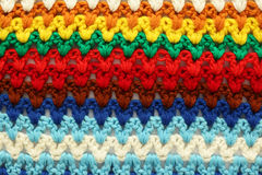 Fondo multicolor hecho punto imagenes de archivo