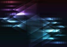 Fondo multicolor oscuro abstracto de la coincidencia de la flecha del movimiento Imagenes de archivo