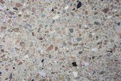 Fondo multicolor pulido de la textura del granito y del mármol en el edificio antiguo fotografía de archivo libre de regalías