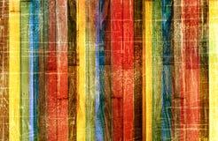 Fondo multicolor rayado del Grunge Imagen de archivo libre de regalías
