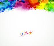 Fondo multicolore Fotografia Stock