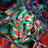 Fondo multicolore astratto Immagini Stock Libere da Diritti