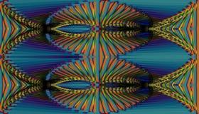 Fondo multicolore astratto, immagine raster per la progettazione della t Fotografia Stock