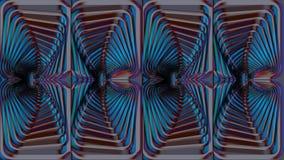 Fondo multicolore astratto, immagine raster per la progettazione della t Fotografie Stock Libere da Diritti