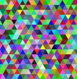 Fondo multicolore del triangolo Fotografia Stock Libera da Diritti