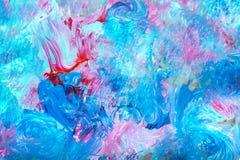 Fondo multicolore dell'acquerello Fotografia Stock Libera da Diritti