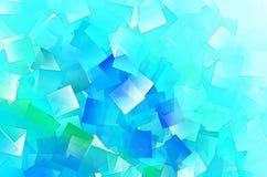 Fondo multicolore dell'estratto dell'agglomerazione dei quadrati Fotografia Stock Libera da Diritti