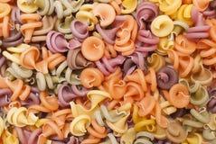 Fondo multicolore della pasta Immagini Stock