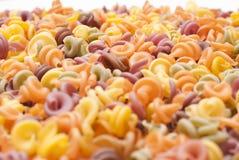 Fondo multicolore della pasta Fotografie Stock