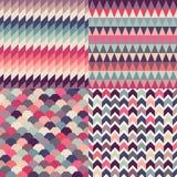 Fondo multicolore senza cuciture delle mattonelle royalty illustrazione gratis