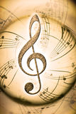 Fondo musical Foto de archivo libre de regalías