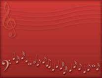 Fondo musical Fotografía de archivo