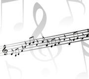 Fondo musical Imagenes de archivo
