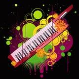 Fondo musical Imagen de archivo