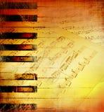 Fondo musical Foto de archivo