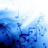 Fondo musicale Immagini Stock