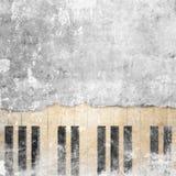 Fondo musicale di lerciume Immagini Stock