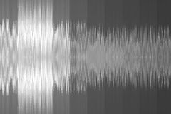 fondo musicale sotto forma di onda sonora Colore grigio immagine stock
