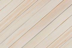 Fondo natural de la nueva diagonal ligera de madera de los tableros del tablón imágenes de archivo libres de regalías