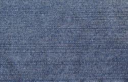 Fondo natural de la textura azul clásica del dril de algodón Imagen de archivo libre de regalías