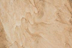 Fondo natural del detalle marrón agrícola seco del suelo Imagen de archivo