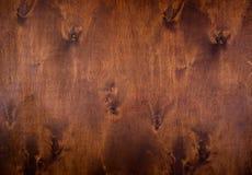 Fondo naturale di legno di marrone scuro Fotografia Stock