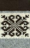 Fondo naturale tricottato di struttura della lana Fotografia Stock Libera da Diritti