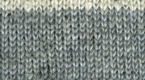Fondo naturale tricottato di struttura della lana Fotografie Stock Libere da Diritti