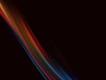 Fondo negro abstracto Imagen de archivo libre de regalías