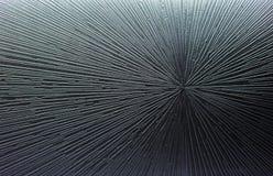 Fondo negro abstracto con la parte radial y las líneas fotografía de archivo