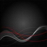 Fondo negro abstracto de la textura Fotografía de archivo
