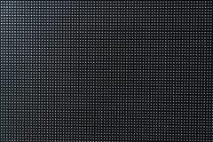 Fondo negro abstracto, textura, el panel ligero del fondo LED Foto de archivo libre de regalías
