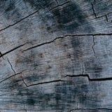 Fondo negro agrietado de madera del vintage Fotos de archivo libres de regalías