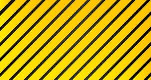 Fondo negro amarillo del modelo de la advertencia rayada industrial libre illustration