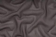 Fondo negro de la malla, pescando textura de la materia textil, fotos de archivo libres de regalías