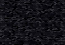 Fondo negro de la pared de ladrillo Los ladrillos texturizan vector incons?til del modelo libre illustration